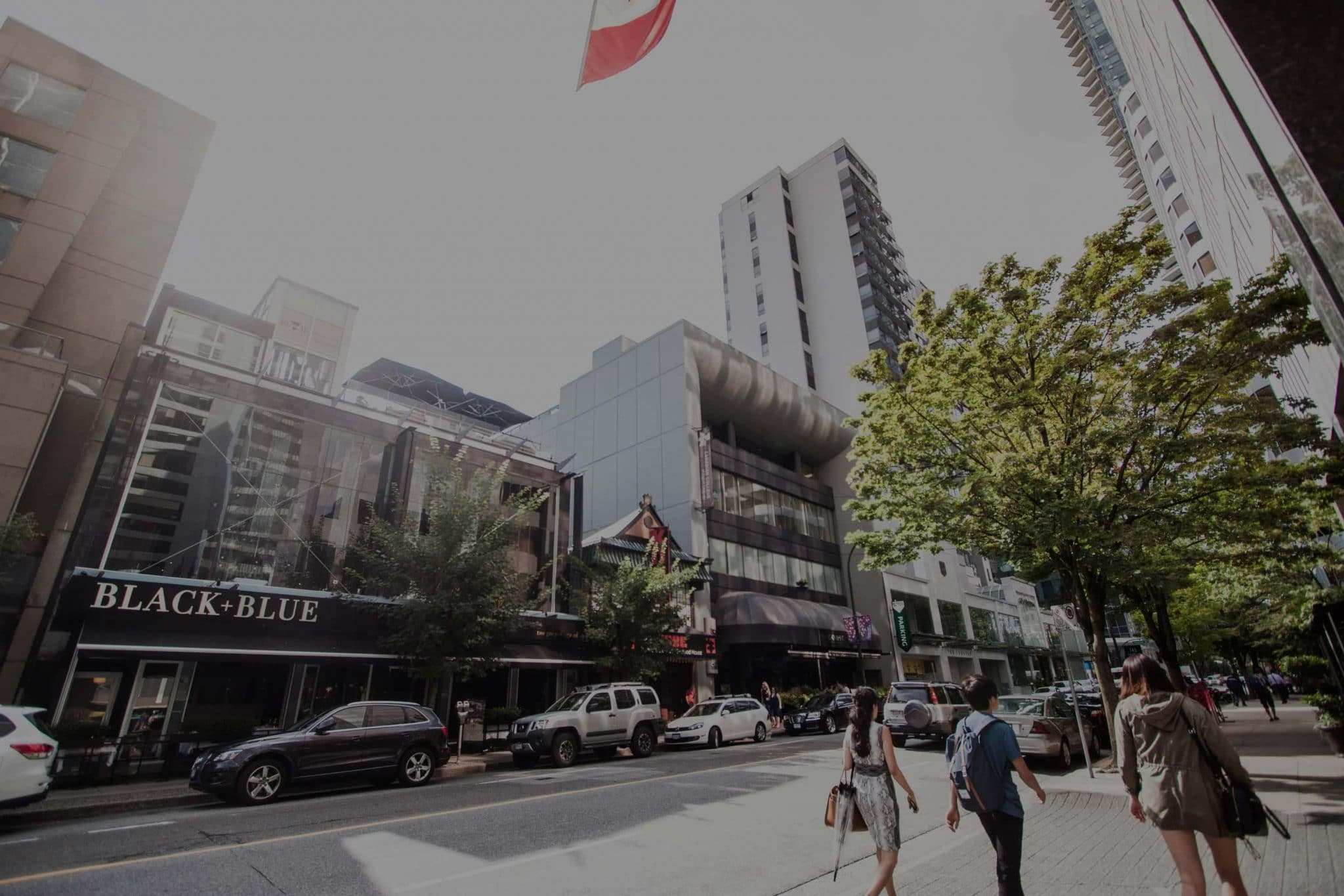 Vancouver Robson Street