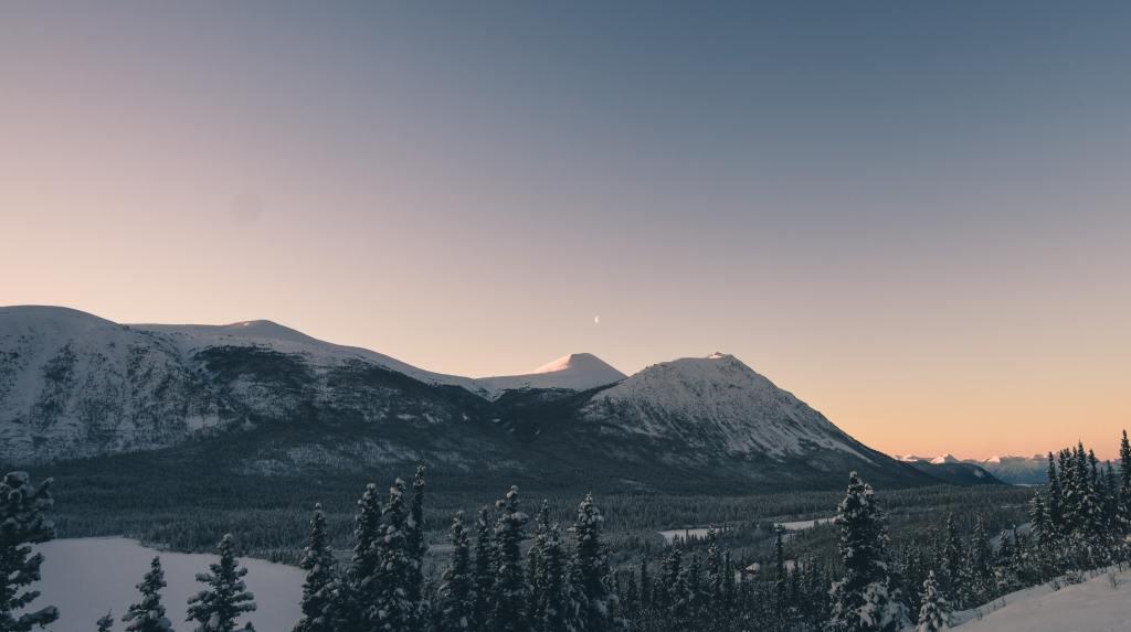 Yukon mountains and night sky | getting to tomorrow yukon