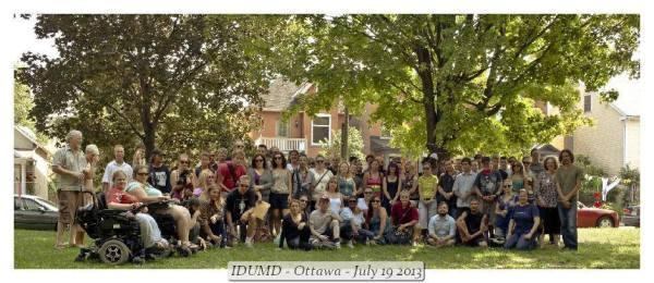 International Drug User Memorial Day, 2013 Ottawa