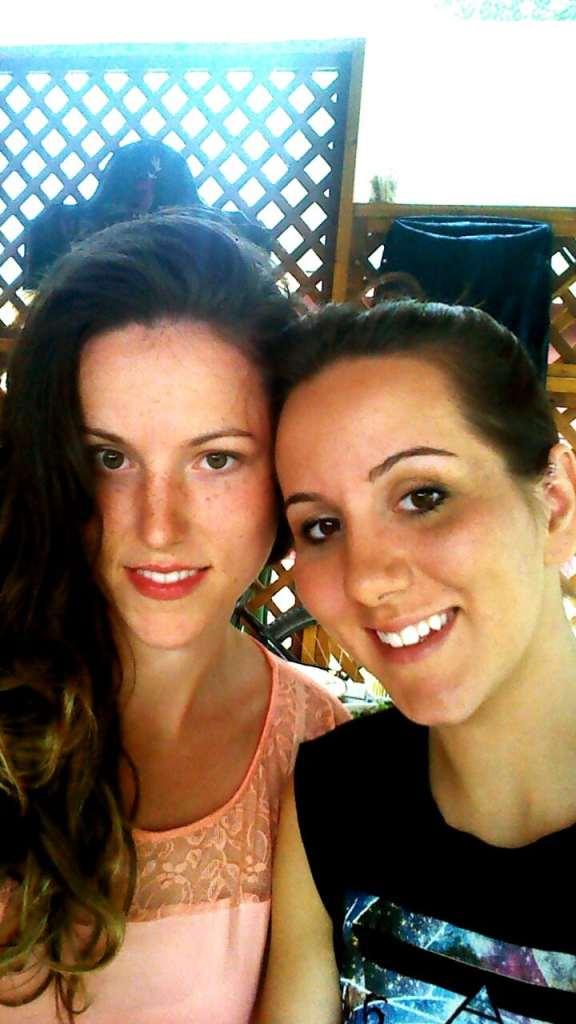 Renee with sister, Jocelyn McIntosh
