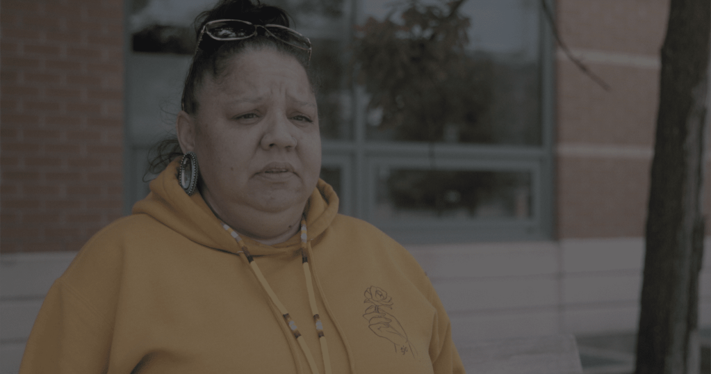 Indigenous harm reduction worker